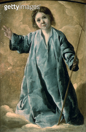 <b>Title</b> : The Infant Christ (oil on canvas)<br><b>Medium</b> : oil on canvas<br><b>Location</b> : Pushkin Museum, Moscow, Russia<br> - gettyimageskorea