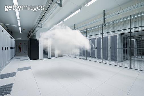 Cloud in data storage center - gettyimageskorea