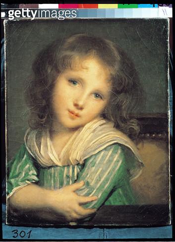 <b>Title</b> : Girl at the Window (oil on canvas)<br><b>Medium</b> : oil on canvas<br><b>Location</b> : Peterhof Palace, Petrodvorets, St. Petersburg, Russia<br> - gettyimageskorea