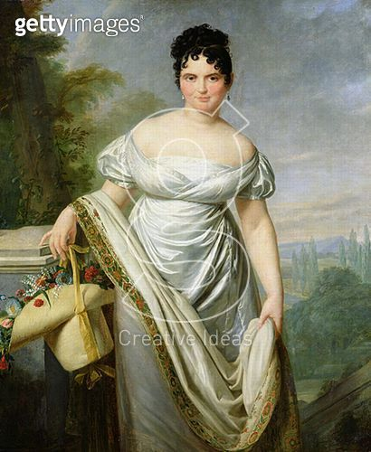 <b>Title</b> : Madame Tallien (1773-1835) (oil on canvas)<br><b>Medium</b> : oil on canvas<br><b>Location</b> : Musee de la Chartreuse, Douai, France<br> - gettyimageskorea