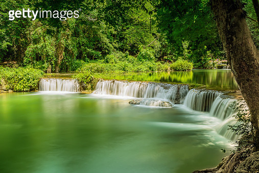 Chet Sao Noi Waterfall National Park. ( Reprocess ) - gettyimageskorea