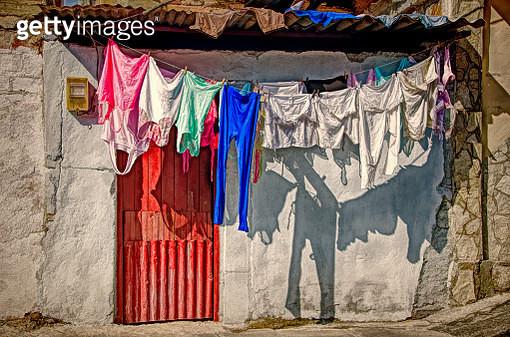 Laundry Day in Santiago de Cuba - gettyimageskorea