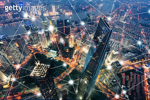 Smart City Shanghai City Network Technology City Communication Technology - gettyimageskorea