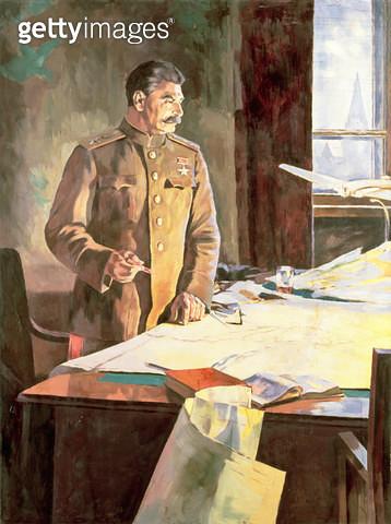 <b>Title</b> : Stalin in the Kremlin<br><b>Medium</b> : <br><b>Location</b> : Magyar Nemzeti Galeria, Budapest, Hungary<br> - gettyimageskorea