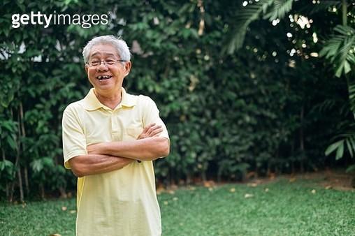 Portrait of Chinese Senior Man - gettyimageskorea