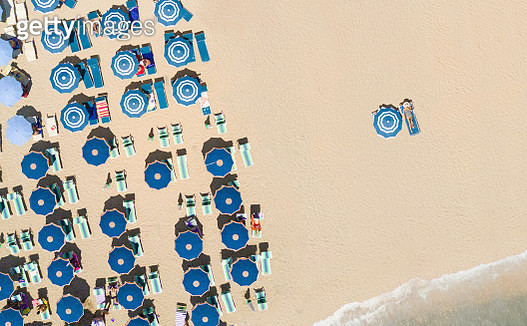 Aerial view of the beach - gettyimageskorea