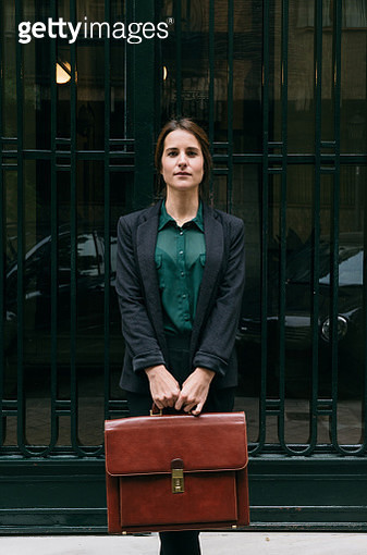 stylish woman posing at street - gettyimageskorea