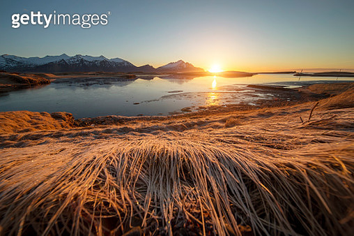 iceland sunrise in the morning - gettyimageskorea