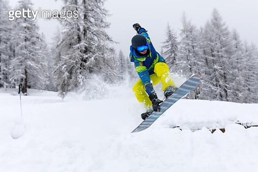 Snowboard freestyle - gettyimageskorea