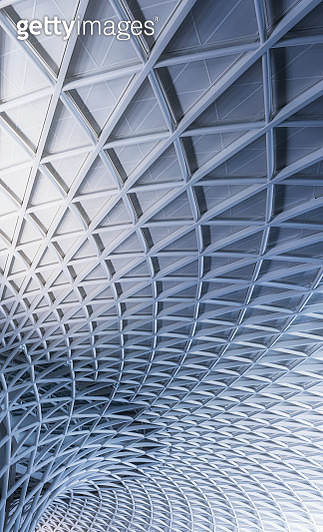 Low Angle View Of Kings Cross Station, London - gettyimageskorea