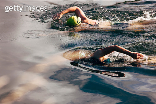 Open water river swimming - gettyimageskorea