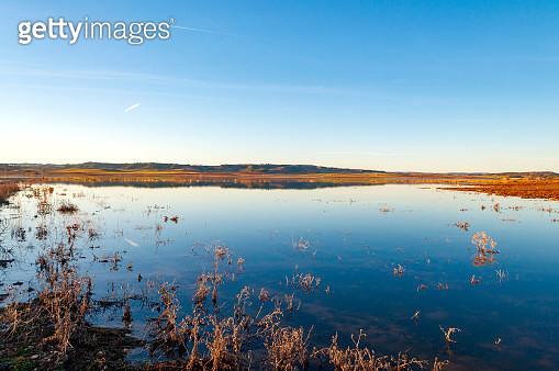 Interior river landscape in Spain - gettyimageskorea