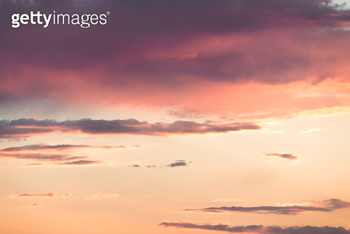 Sunset Cloudscape - gettyimageskorea