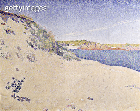 <b>Title</b> : Sandy Seashore, 1890<br><b>Medium</b> : oil on canvas<br><b>Location</b> : Pushkin Museum, Moscow, Russia<br> - gettyimageskorea