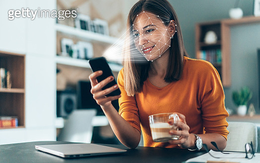 Biometric verification and face detection - gettyimageskorea
