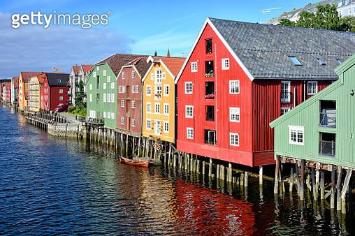 Cityscape of Trondheim, Norway - gettyimageskorea