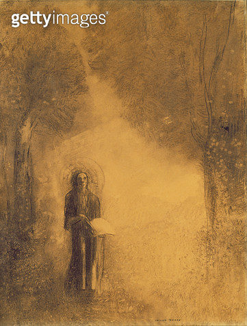 <b>Title</b> : The Walker, Study for 'The walking Buddha'), 1890-95 (charcoal on paper)<br><b>Medium</b> : charcoal on paper<br><b>Location</b> : On Loan to the Hamburg Kunsthalle, Hamburg, Germany<br> - gettyimageskorea