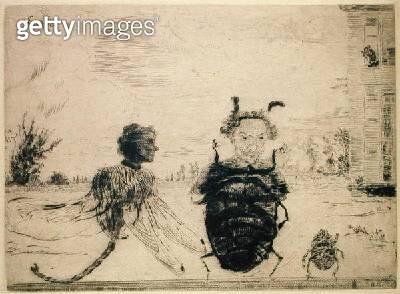 <b>Title</b> : Peculiar Insects, 1888<br><b>Medium</b> : <br><b>Location</b> : On Loan to the Hamburg Kunsthalle, Hamburg, Germany<br> - gettyimageskorea