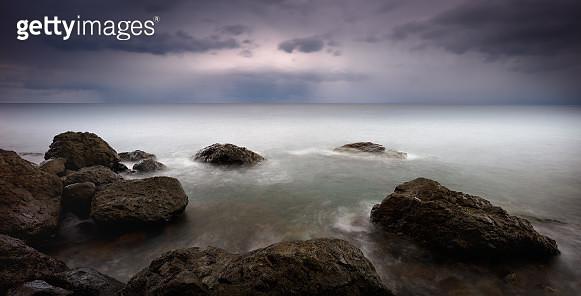 Horizon Of The Black Sea - gettyimageskorea