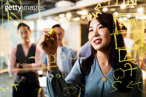 Working hard on planning the business actions - gettyimageskorea