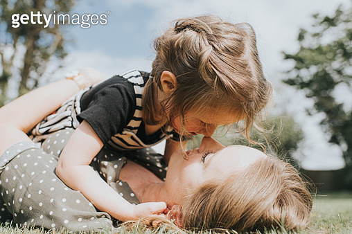 Mother and Daughter - gettyimageskorea