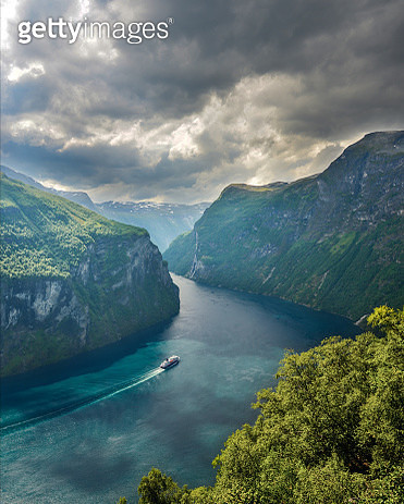 Most scenic fjord in norther Norway - gettyimageskorea