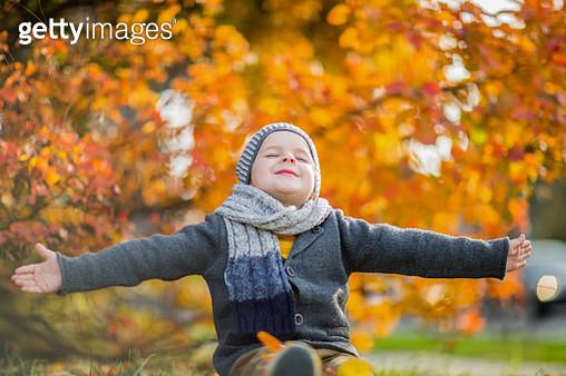 I love autumn! - gettyimageskorea