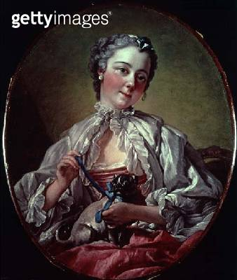 <b>Title</b> : Madame Boucher, c.1743 (oil on canvas)<br><b>Medium</b> : oil on canvas<br><b>Location</b> : Private Collection<br> - gettyimageskorea