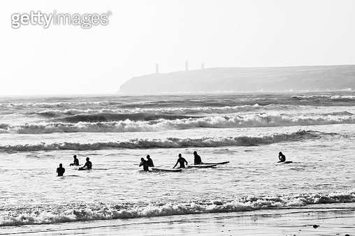 Hitting the Surf - gettyimageskorea