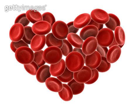 Heart Of Blood Cells - gettyimageskorea