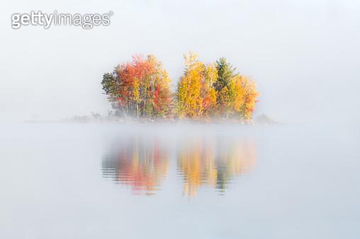 Misty Fall - gettyimageskorea