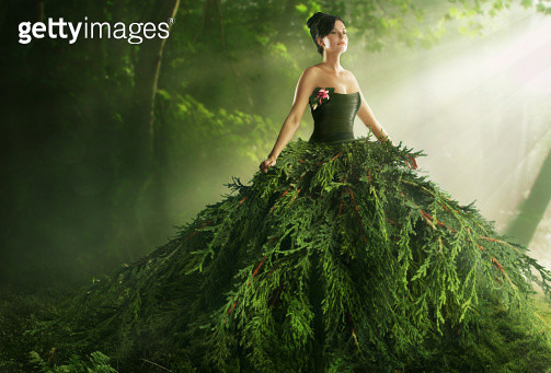 floral, flowers, plants, fashion, organic, beauty, natural, nature, green, clothes, craft, woman, female, recycle, eco - gettyimageskorea