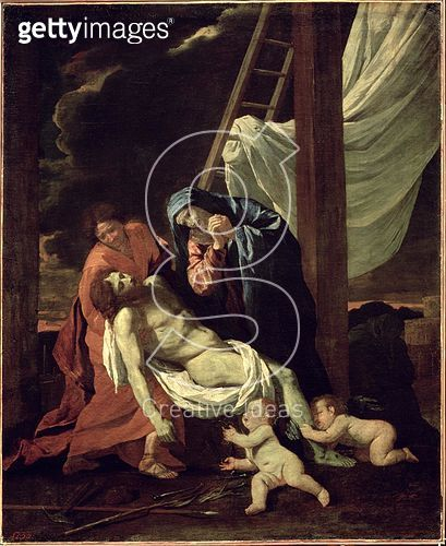 <b>Title</b> : The Deposition, c.1630 (oil on canvas)<br><b>Medium</b> : oil on canvas<br><b>Location</b> : Hermitage, St. Petersburg, Russia<br> - gettyimageskorea