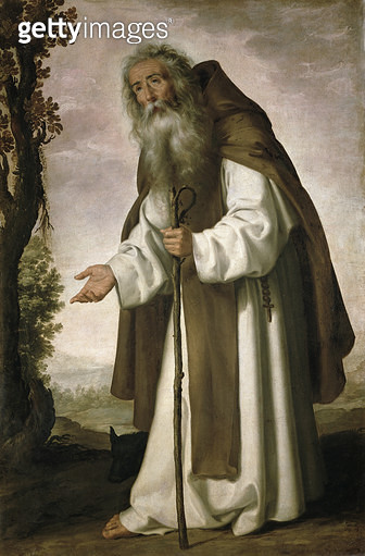 <b>Title</b> : St. Anthony Dispirited, 1640 (oil on canvas)<br><b>Medium</b> : oil on canvas<br><b>Location</b> : Galleria degli Uffizi, Florence, Italy<br> - gettyimageskorea