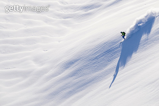 Person skiing - gettyimageskorea