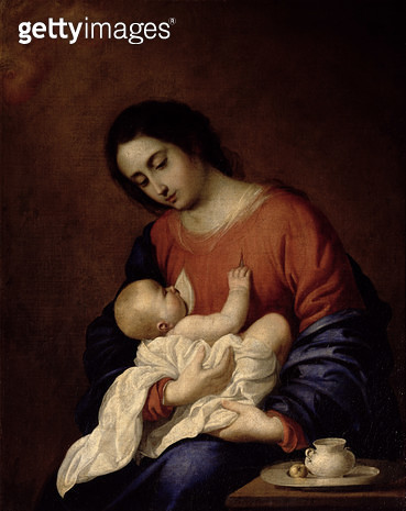 <b>Title</b> : Virgin and Child<br><b>Medium</b> : <br><b>Location</b> : Pushkin Museum, Moscow, Russia<br> - gettyimageskorea