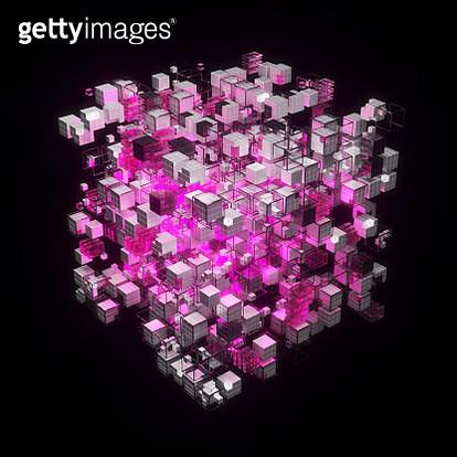 Virtual representation of big memory storage or artificial intelligence brain - gettyimageskorea