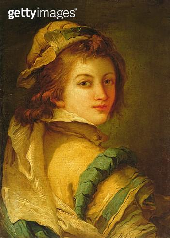 <b>Title</b> : Portrait of a Page, 1762-70 (oil on canvas)<br><b>Medium</b> : oil on canvas<br><b>Location</b> : Galleria degli Uffizi, Florence, Italy<br> - gettyimageskorea
