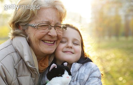 My gran love me - gettyimageskorea
