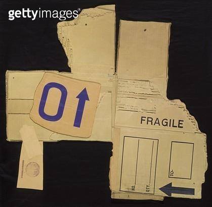 <b>Title</b> : Card Bird VI, 1971 (screenprint, collage, corrugated card)<br><b>Medium</b> : screenprint, collage, corrugated card<br><b>Location</b> : Art Gallery of New South Wales, Sydney, Australia<br> - gettyimageskorea