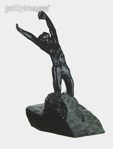<b>Title</b> : The Prodigal Son, 1885-87 (bronze)<br><b>Medium</b> : bronze<br><b>Location</b> : Art Gallery of New South Wales, Sydney, Australia<br> - gettyimageskorea