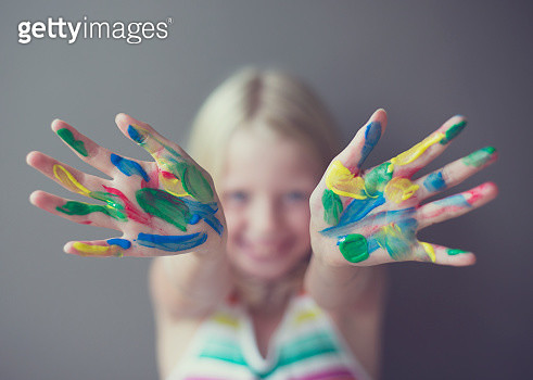 Colorful Mess - gettyimageskorea