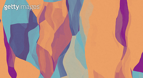 Abstract geometric distorted colorful background - gettyimageskorea
