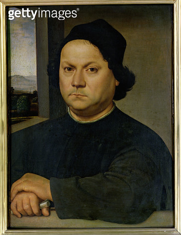 Portrait of Perugino/ c.1504 (tempera on wood) - gettyimageskorea