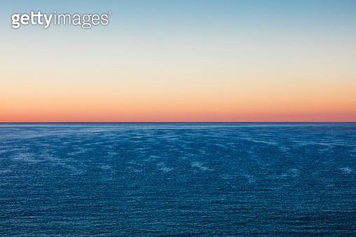 Sunset sea romantic beautiful background Unicorn, - gettyimageskorea