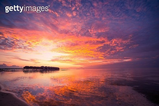 Sunset.... you will never forget.. - gettyimageskorea
