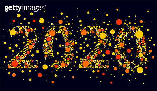 2020 with dots - gettyimageskorea