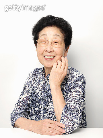 A woman of senior - gettyimageskorea