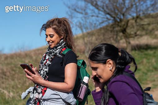 Keeping in Touch With Back Home - gettyimageskorea