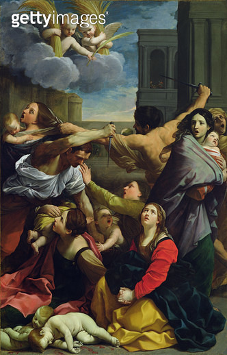 <b>Title</b> : Massacre of the Innocents,  1611 (oil on canvas)<br><b>Medium</b> : oil on canvas<br><b>Location</b> : Pinacoteca Nazionale, Bologna, Italy<br> - gettyimageskorea